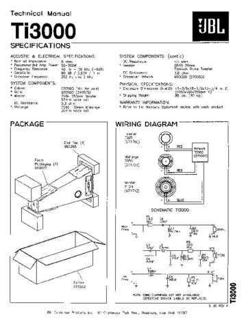 INFINITY TI-400 Service Manual by download #151613 For