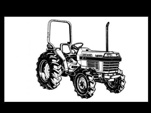KUBOTA L2650 L2950 L3450 L3650 L-2650 MANUAL for Tractor