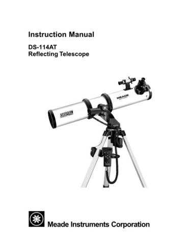 Meade 01 DS-114ATmanualfinal Instruction Manual by