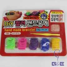 Korea Hand Bracelet Diy Rainbow Loom Set