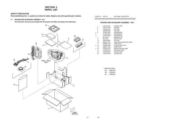 JVC GR-DVL120U_part Service Manual by download Mauritron