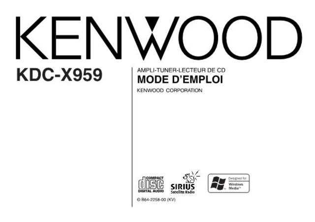 Kenwood KDC-X959 by download Mauritron #219150 For Sale