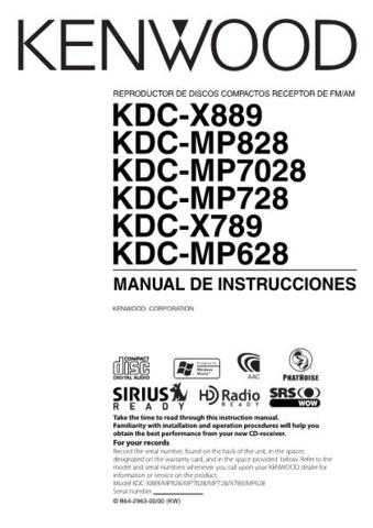 Kenwood KDC-X889 by download Mauritron #219145 For Sale