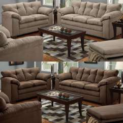 3 Piece Sofa Set For Sale Wooden Furniture Designs And Loveseat 2 Living Room Microfiber