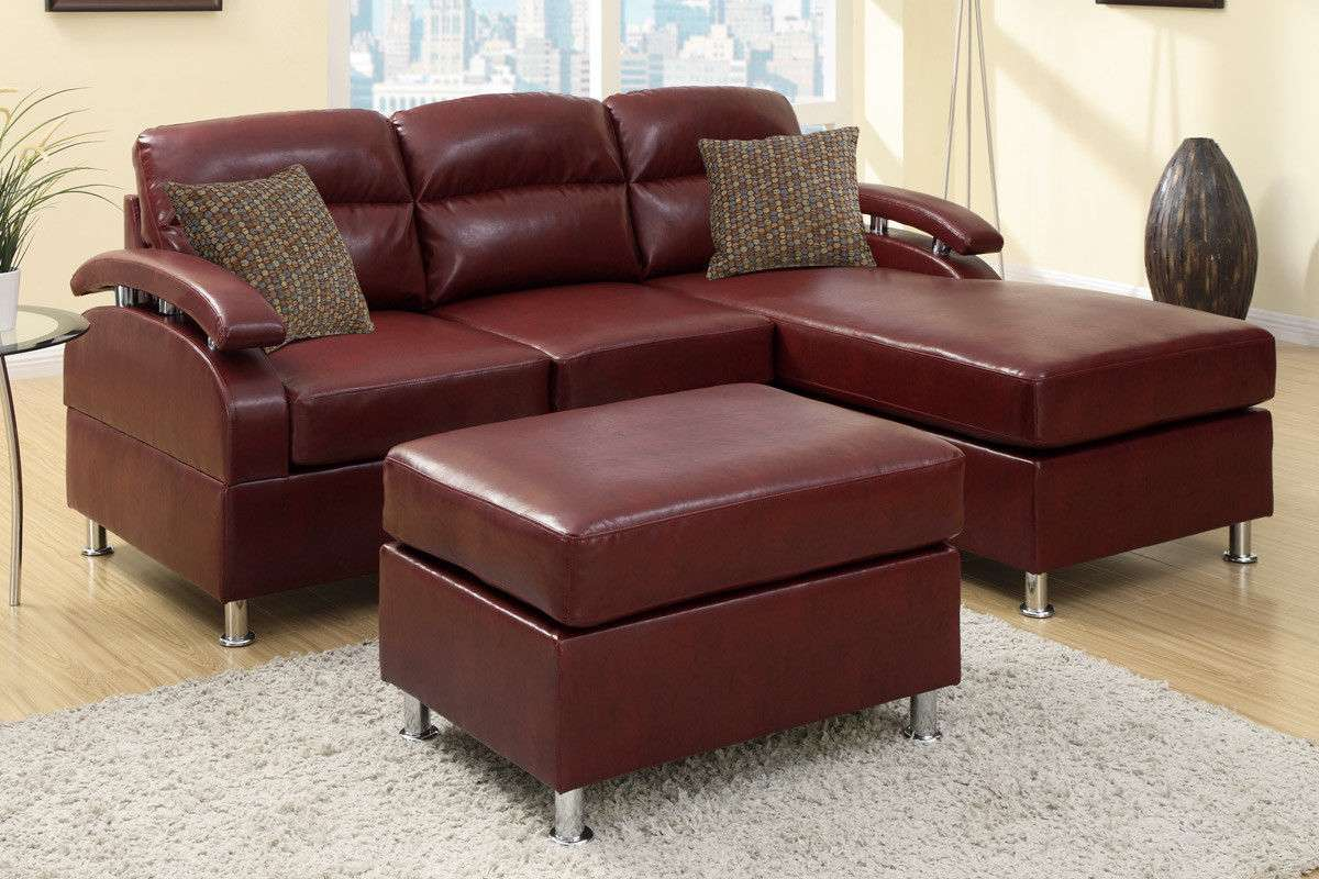 reversible sectional sofas with chaise stripped sofa couch ottoman 3