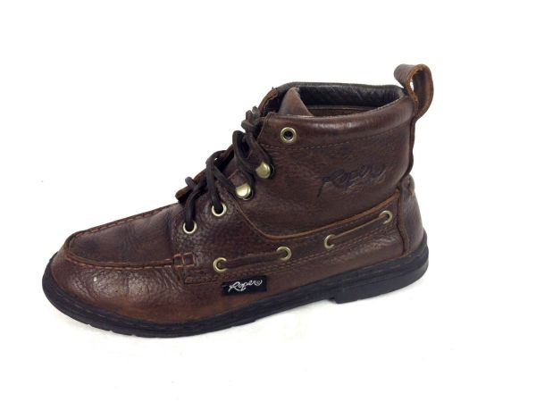 Roper Shoes Womens 10 Brown Leather Boots - Item #1474047