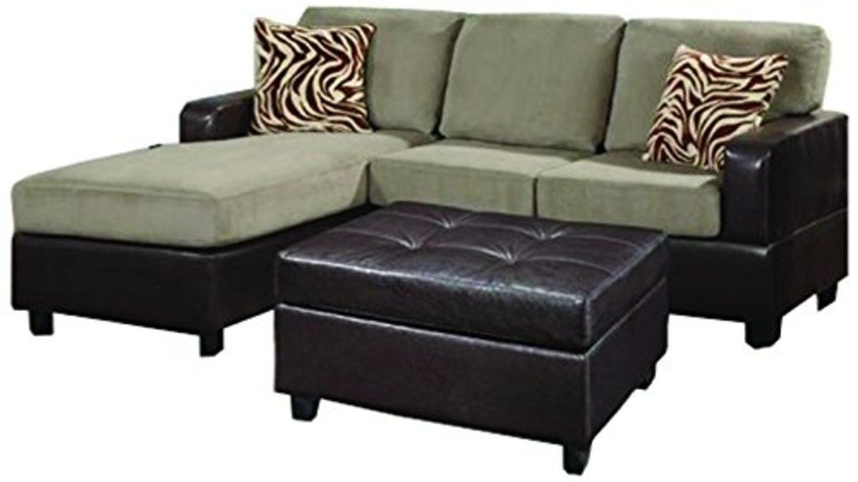 3 piece sofa set for sale ashley sectional grey bobkona manhanttan reversible microfiber