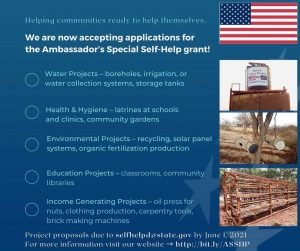 U.S. Embassy in Tanzania-ASSHF Funding Opportunities