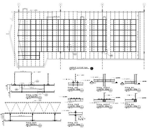 Professional Engineering Drawings from Unistrut Service Co.