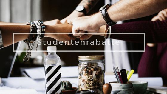 Studentenrabatte 2018