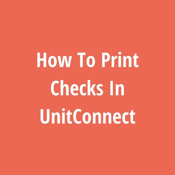 How To Print Checks