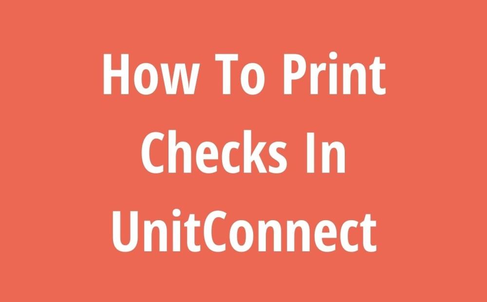 How To Print Checks