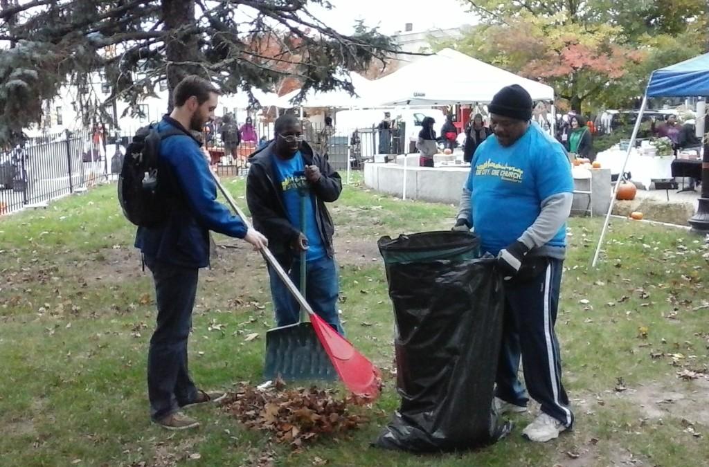 Codman Park Clean-Up