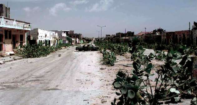 Mogadishu after war broke out. Would you have stayed?