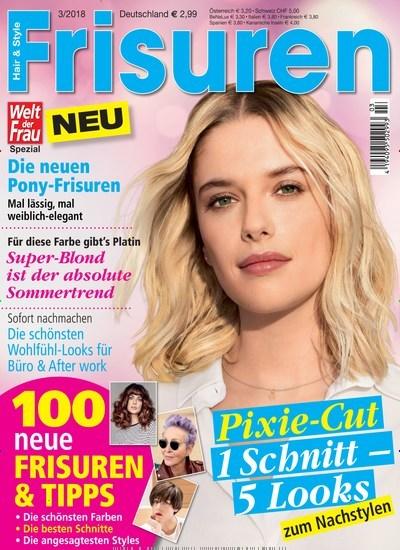 Zeitschrift Welt Der Frau Frisuren Kaufen Als Epaper Ab 1 99€