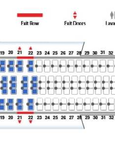 Boeing version united airlines seat map also rh