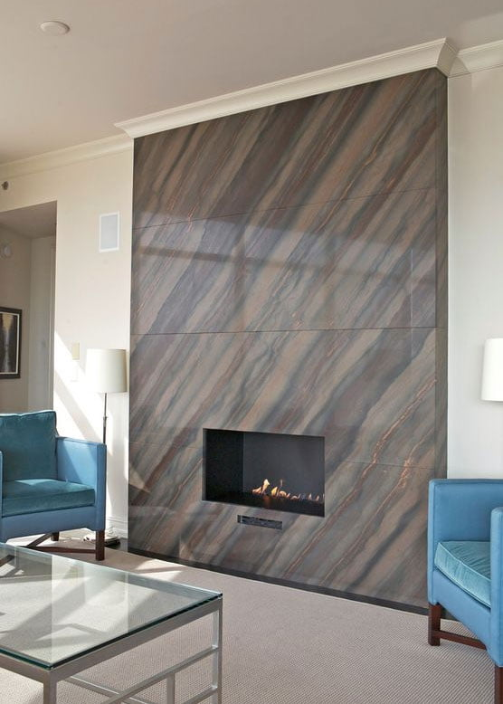 fireplace tile ideas for homeowners