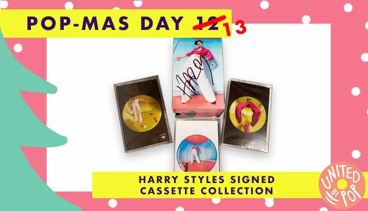 Closed Pop Mas Day 13 Win A Signed Harry Styles Fine Line