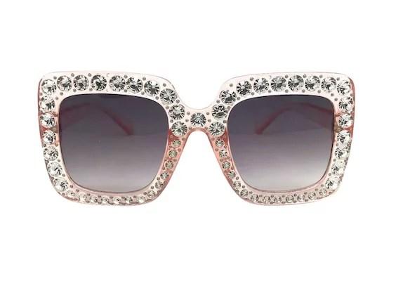 target sparkly square sunglasses