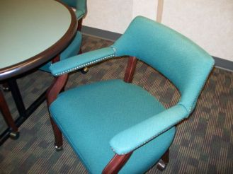 Blue Side Chair