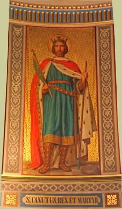 sveti Kanut (Knud) IV. - kralj in mučenec