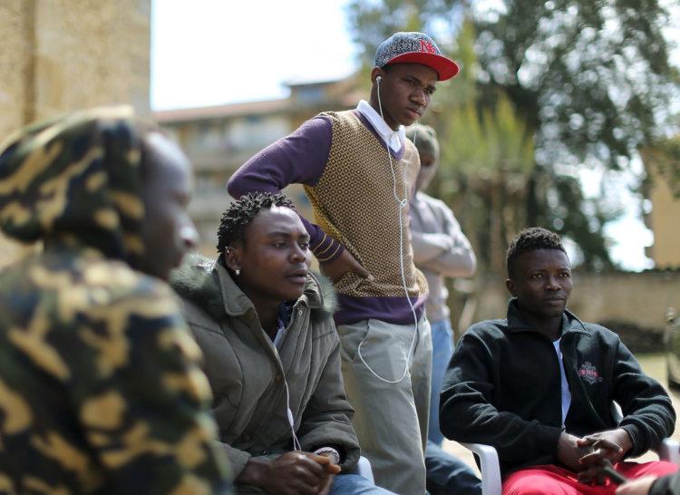 La media de edad de los inmigrantes africanos es muy inferior a la europea [Alessandro Bianchi]