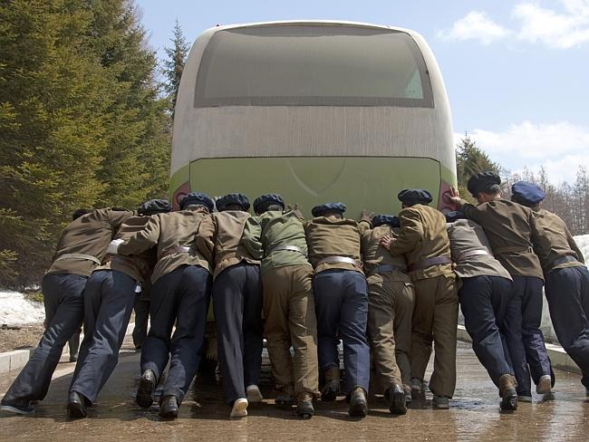 """""""Esto es lo que ocurre cuando el autobús se avería"""" Eric Lafforgue."""