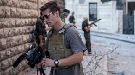 El fotoperiodista James Foley. Vía: www.clasesdeperiodismo.com