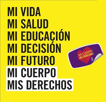 """Campaña de Amnistía Internacional """"i cuerpo, mis derechos"""""""