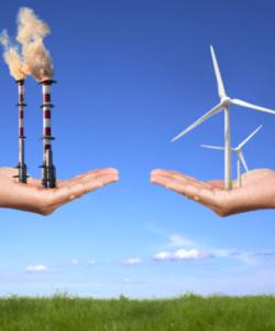 La batalla entre las energías convencionales y las energías renovables (Fuente: The Open Mind)