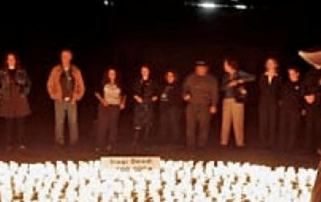 iraq war anniversary vigil