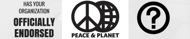 ORGANIZATION ENDORSED PEACE AND PLANET