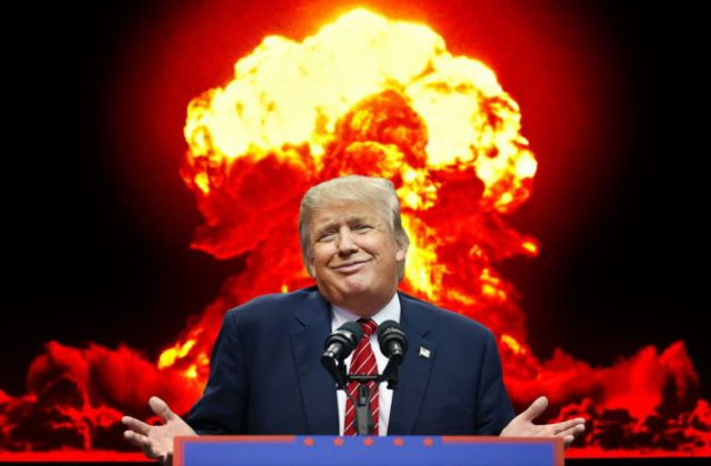 trump nuclear weapon bomb