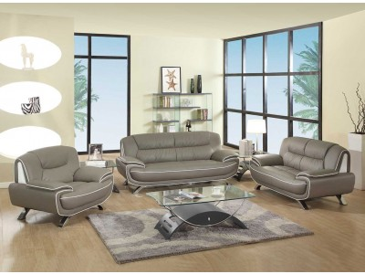 grey leather living room set decor ideas 405 modern in beige by ufg