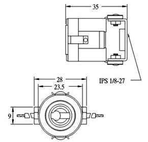 MCSK1 halogen lamp socket for e11 mini candelabra halogen