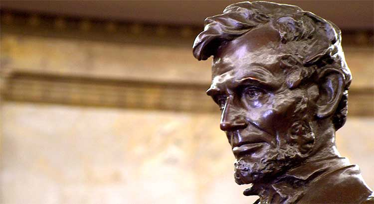 Abraham Lincoln, American Moses, serves as a role model to all