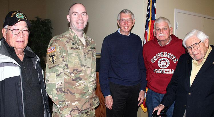 Rabbi Aaron returns to Terre Haute for Veterans Day, celebrates 'the everyday American'