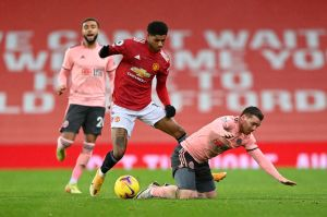 Neville encourages Marcus Rashford to talk about the Super League