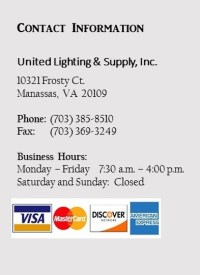 Contact - United Lighting & Supply, Inc.