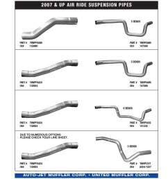 2007 up spring suspension overaxle pipes 2007 under spring suspension thomas engine forward rear overaxle w flex [ 900 x 1248 Pixel ]