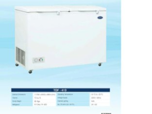 Deep Freezer Twin Door by Varioline Intercool