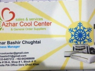 Azhar Cool Center & General Order Supplier
