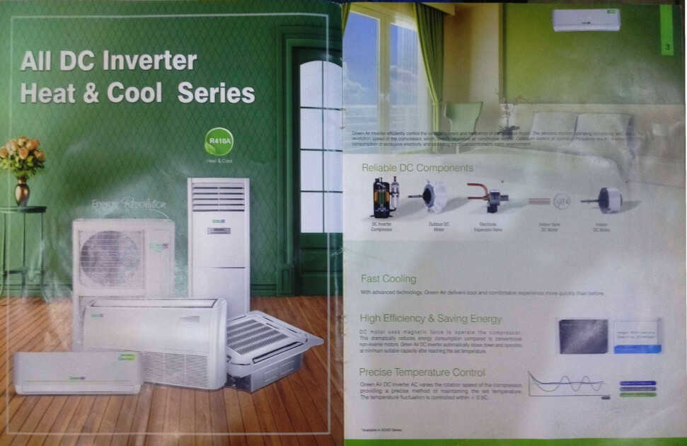 GreenAir DC Inverter 1.5 Ton Air Conditioner for sale
