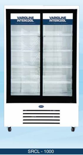 Visi Cooler With Two Sliding Doors