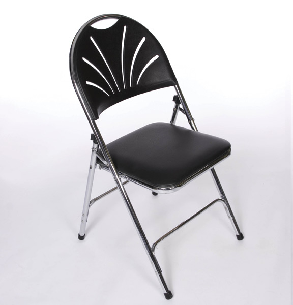 black padded folding chairs cushions for outdoor united rent all omaha