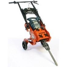 demolition hammer tile stripping cart