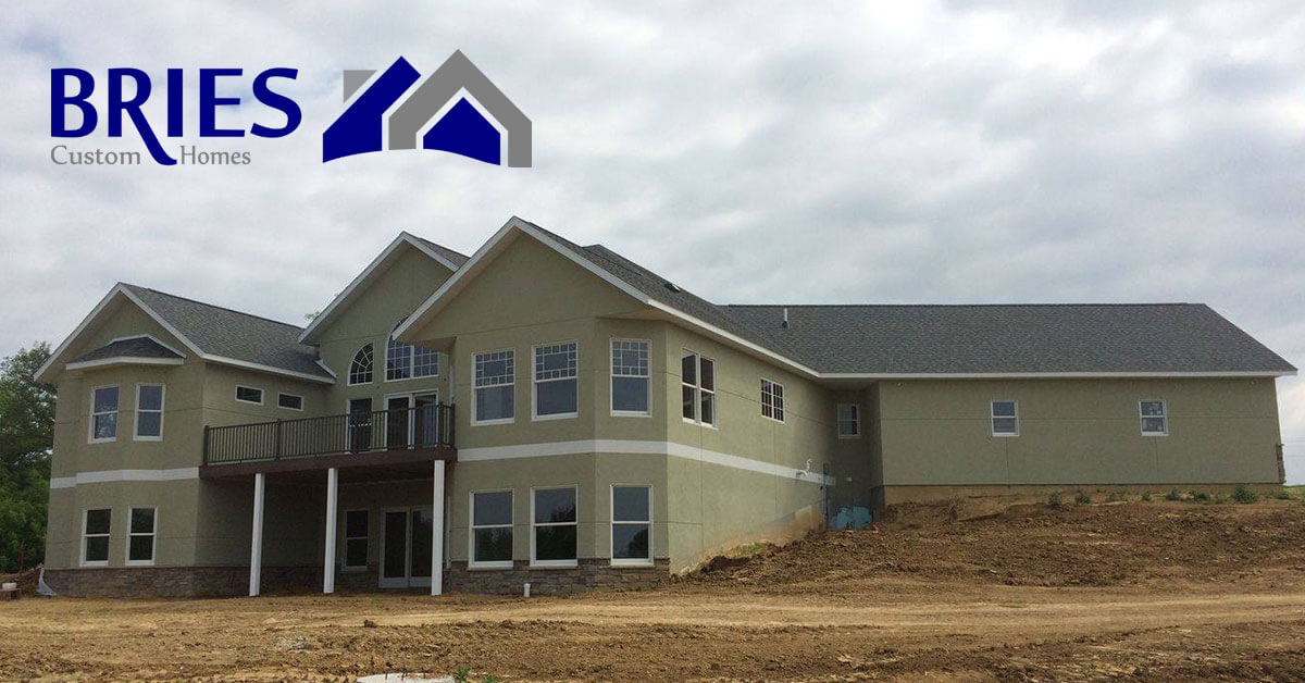 custom homes in Strawberry Point, IA