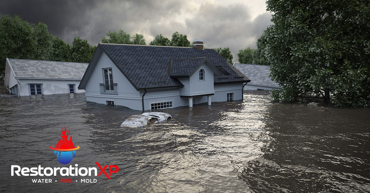 24/7 flood damage repair in Pottsboro, TX