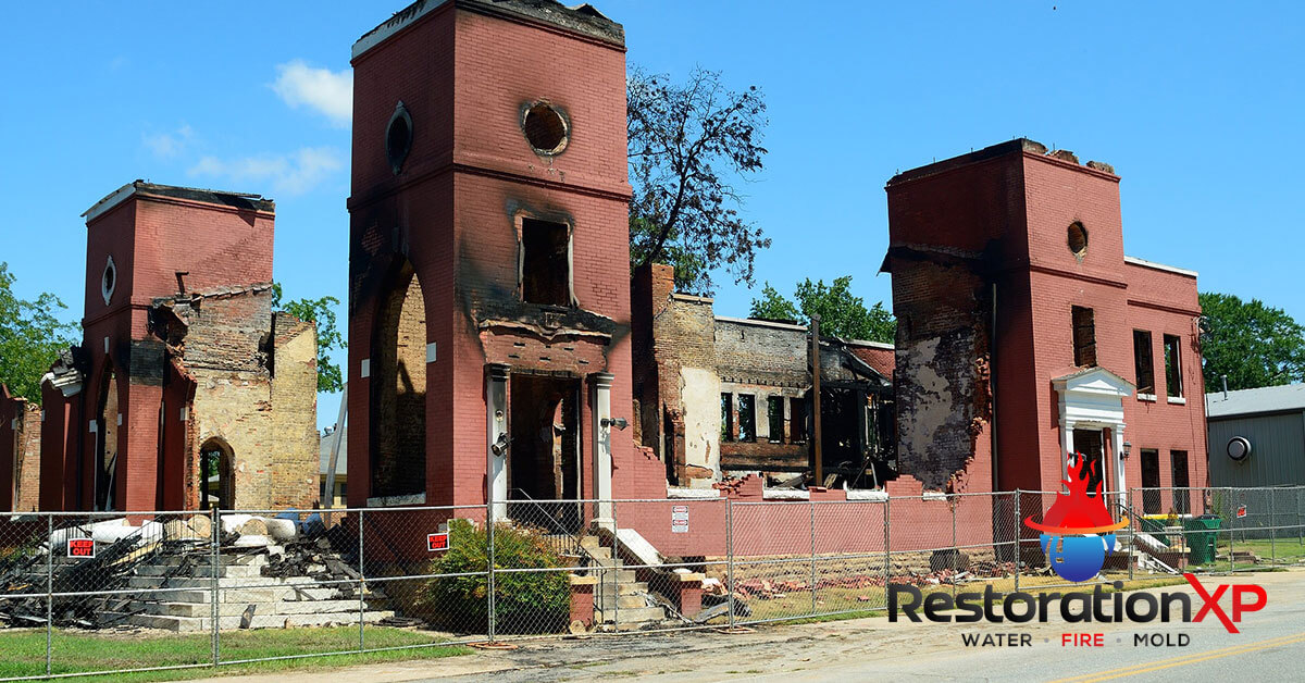 Emergency fire, soot and smoke damage repair in Anna, TX