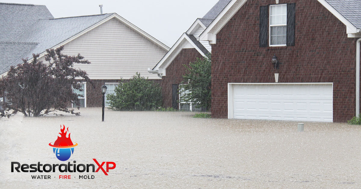 Emergency flood damage repair in Whitesboro, TX